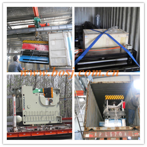 Cold Rolled Strip Cantilever Cable Tray Roll Forming Machine with Punching System