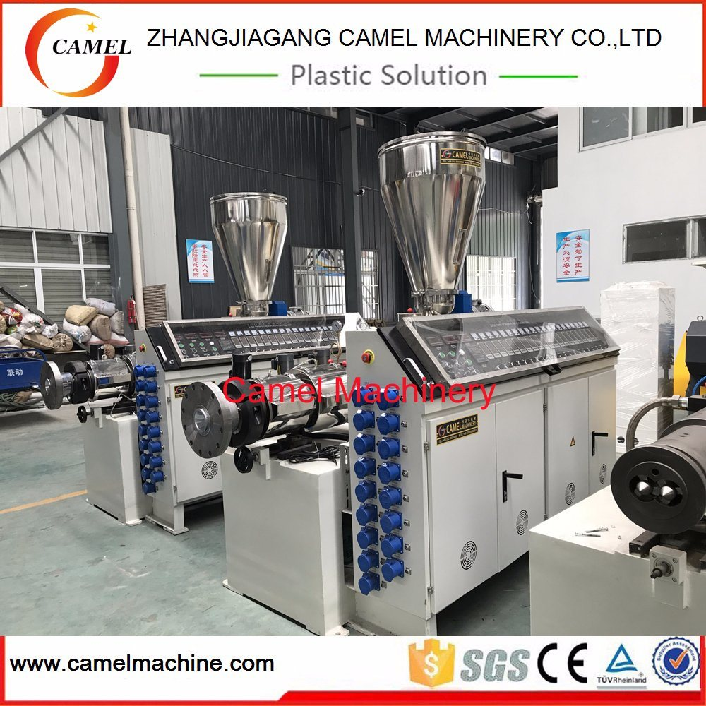 WPC PVC Profile Decking Board Extruder Production Line/Making Machine