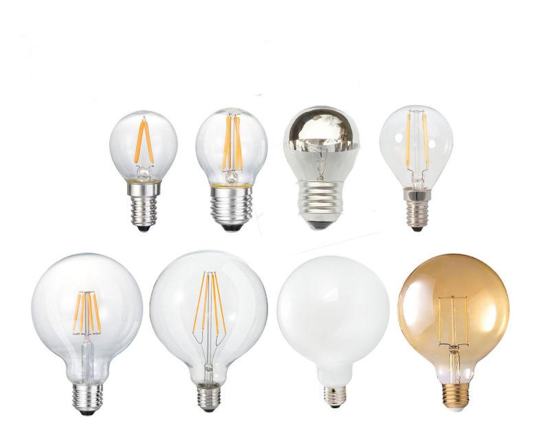 LED G35 Filament Light Bulb 2W 4W 6W