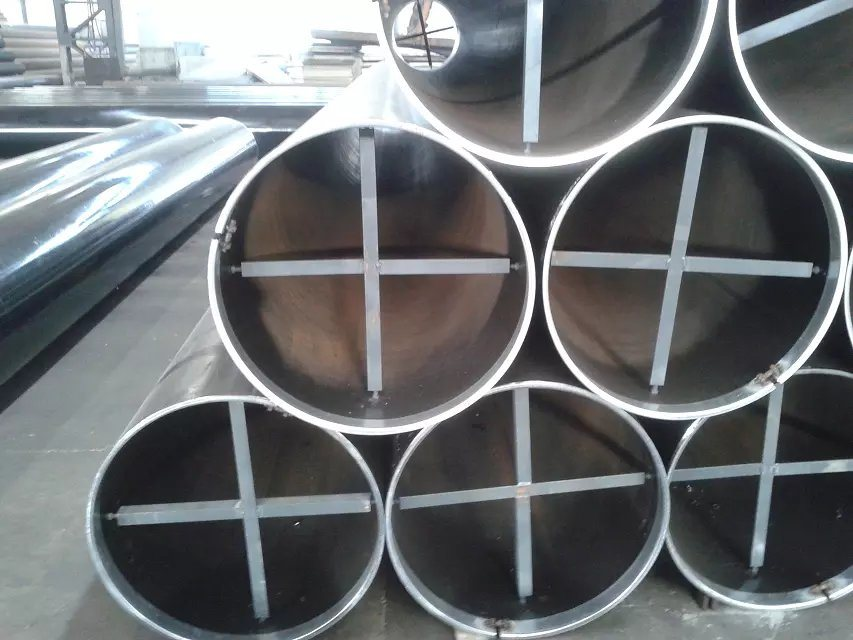 Manufacturer Weld Steel Pipe with Black Steel Pipe Coating