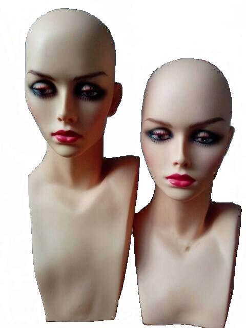 New PVC Mannequin Head Wig Mannequin Head Display Mannequin Head