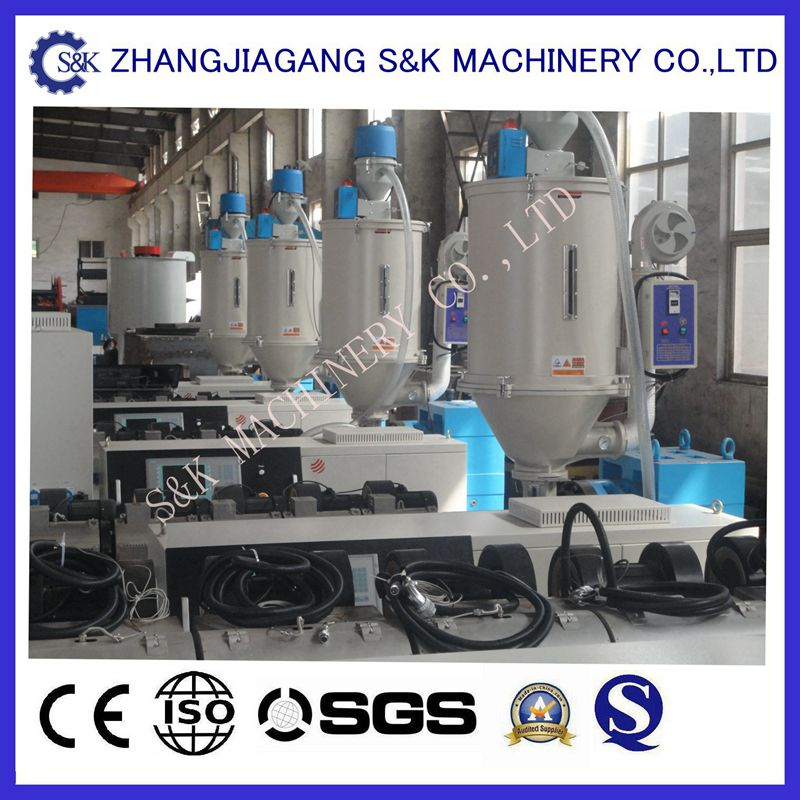 Single Screw HDPE PPR Pipe Extruding Machine for Sale