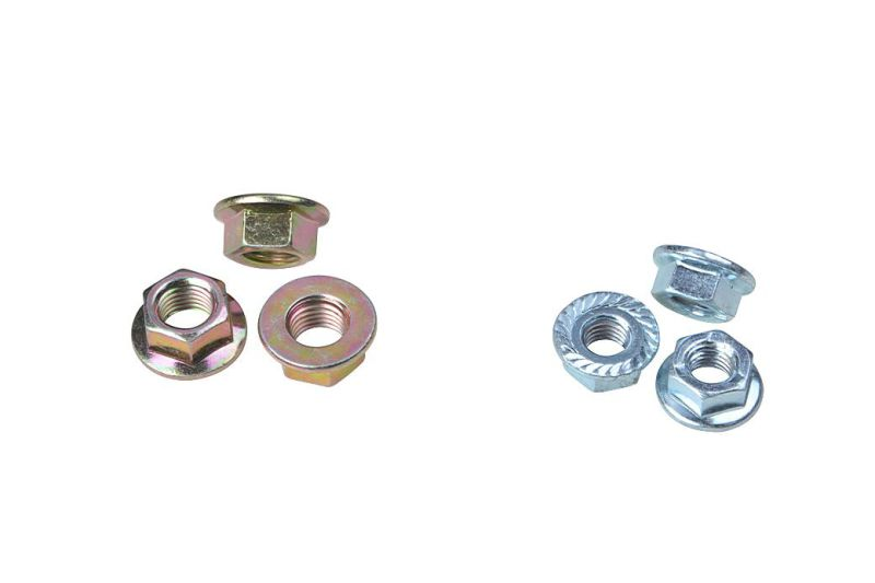 Carbon Steel Hex Nut Nylon Flange Nut