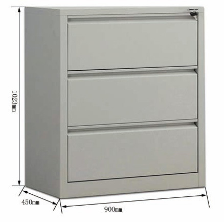 Office Storage Metal Lateral File Cabinet