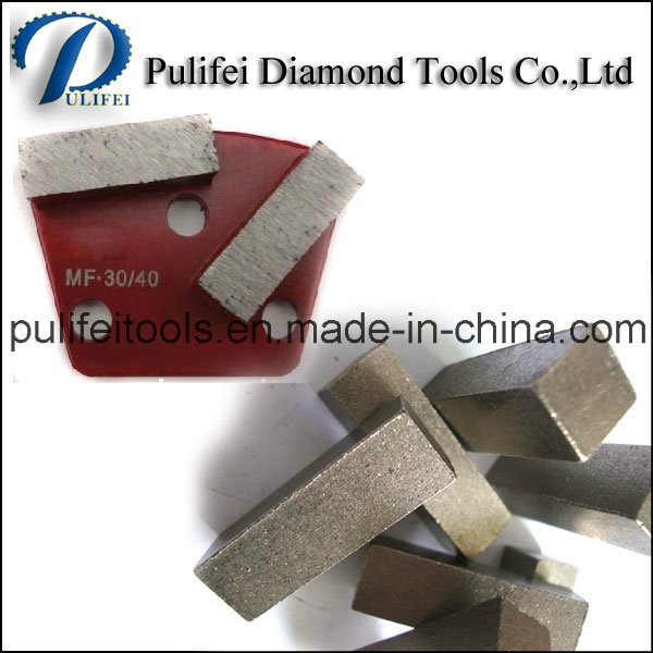 Concrete Floor Grinder Diamond Tools Grinding Segment for Metal Pad