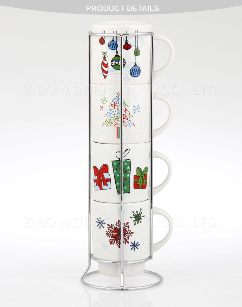 Stacking Coffee Mugs Ceramic Stacking Mug