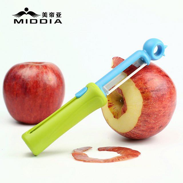 Retractable Ceramic Peeler Kitchen Gadget for Vegetablea & Fruit
