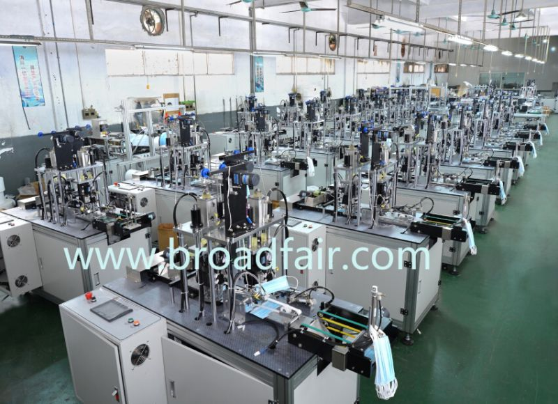 Full Automation Face Mask Making Machine Bf-10113