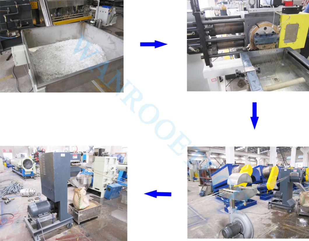 Sjpt Competitive Price Pet Plastic Recycling Pelletizing Production Line