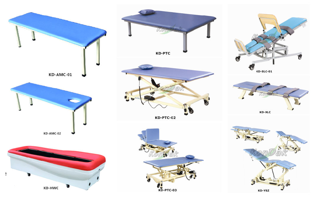 Three Functions Electrical Adjustable Folding Hospital Care Bed