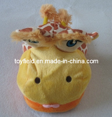 Shoes and Slipper Plush Animal Head