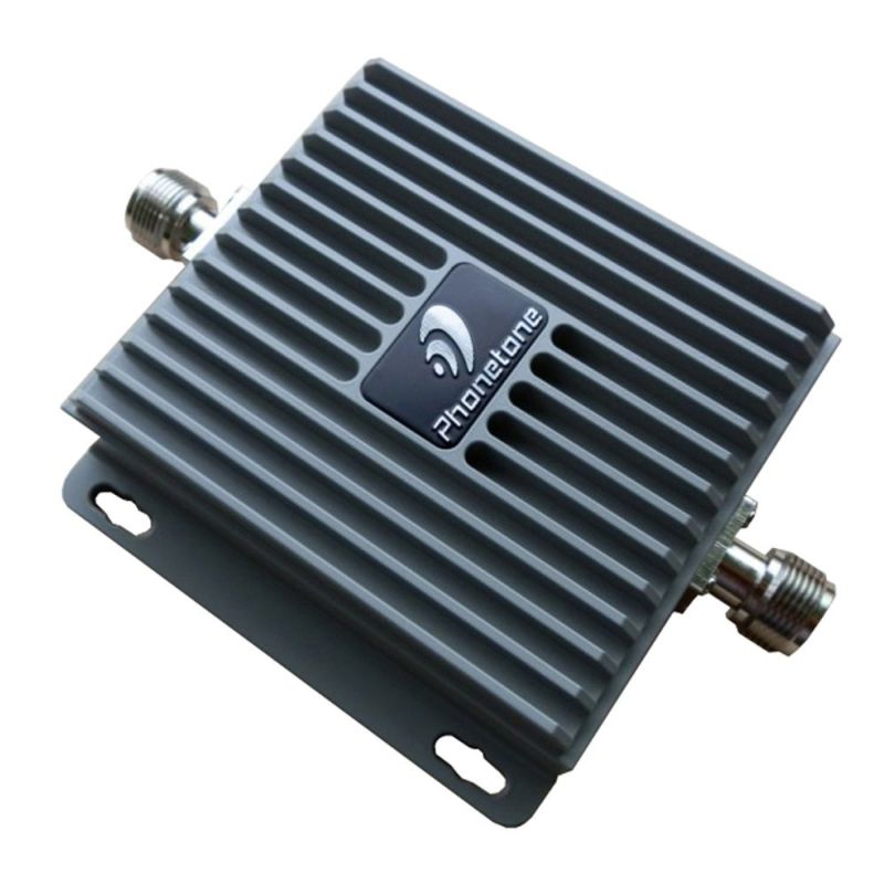 65dB Gain Dual Band Frequency Lte 850MHz/1900MHz Mobile Signal Booster 3G with 2 High Gain Panel Directional Antennas