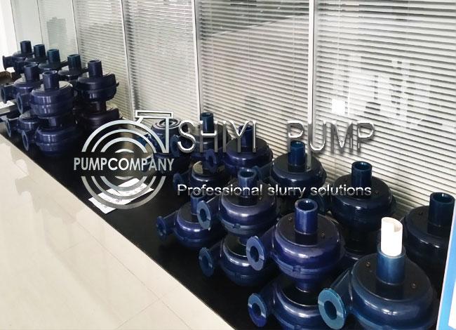 Polyurethane Impeller Slurry Pump PU Impellers Pump Parts