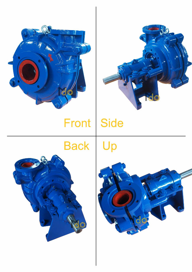 All Kinds of Centrifugal Slurry Pump