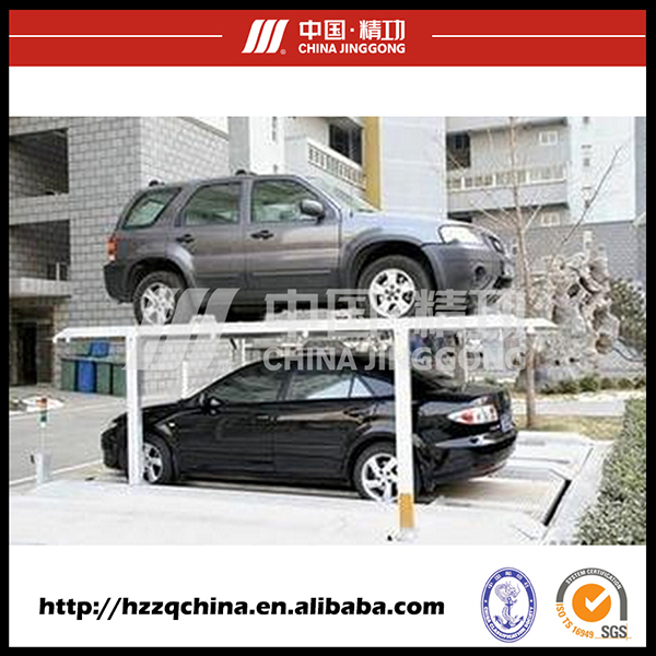 Popular Product Underground Vertical Car Lifting Parking Garage Device