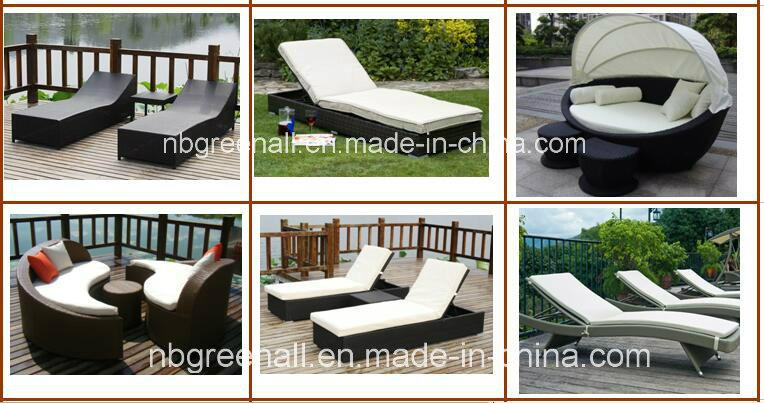 Rattan Chaise Lounge / Wicker Sun Lounger