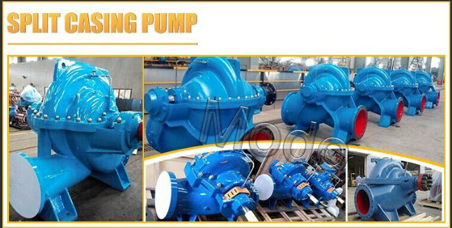 High Volum Drainage Water Pump for Power Plants