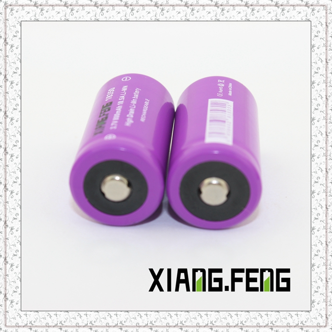 3.7V Xiangfeng 18350 800mAh 10.5A Imr Rechargeable Lithium Battery Imr 18350