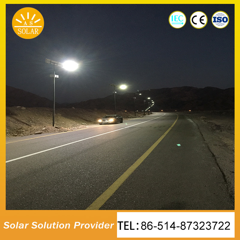 High Power Solar Mono Solar Panel Solar Lighting System Light Pole