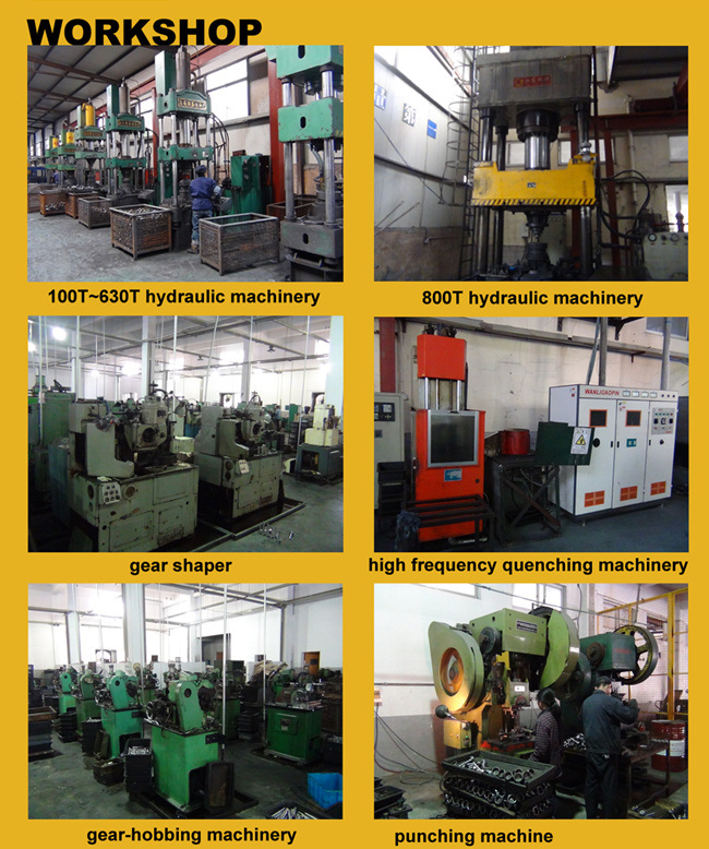OEM/ODM CNC Machining Transmission Spline Gear Drive Shaft