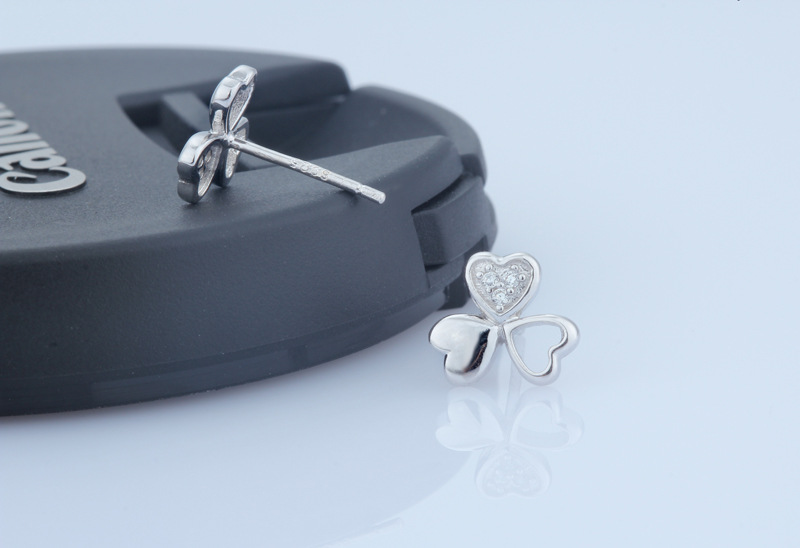 Fashion Earring Crystal Jewelry 925 Sterling Silver Jewelry (SE021)