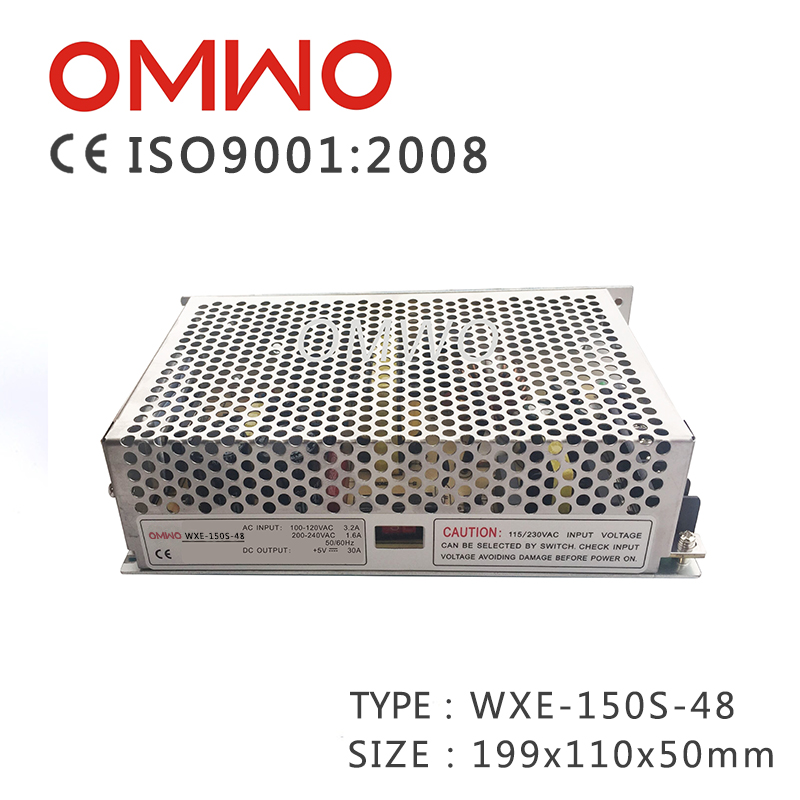 Wxe-150s-48 Single Switching Power Supply