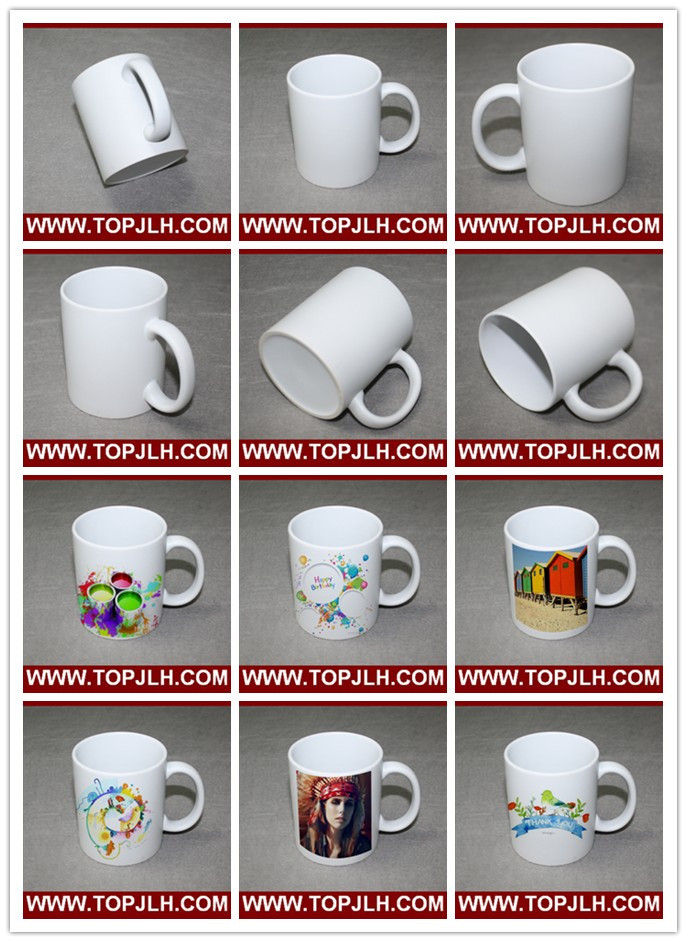 Heat Transfer Printing Matte 11oz White Mug