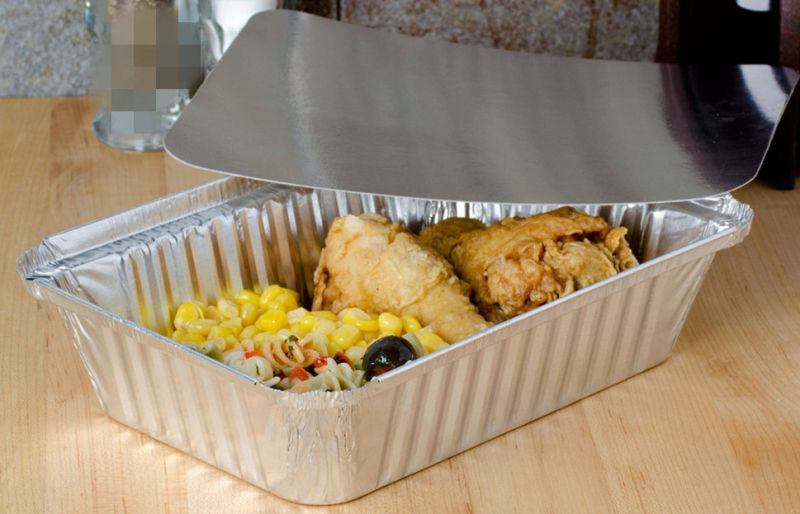 Diaposable Aluminium Food Packaging Containers