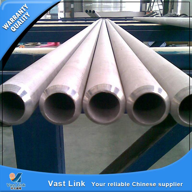 Mill Certificated Stocked ASTM B338 Gr2 Seamless Titanium Tube