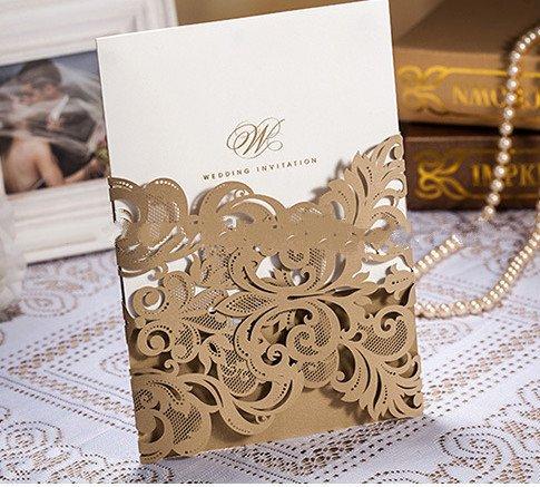 Hot Sale Wedding Invitation Card