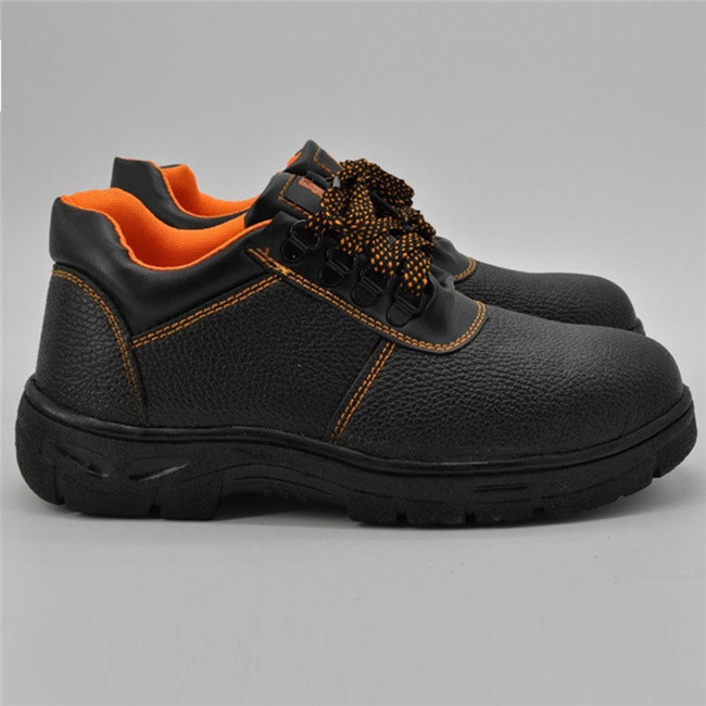 Cheapest Best Selling Leather Rubber Outsole Safety Shoes for Wholesale Ufd002