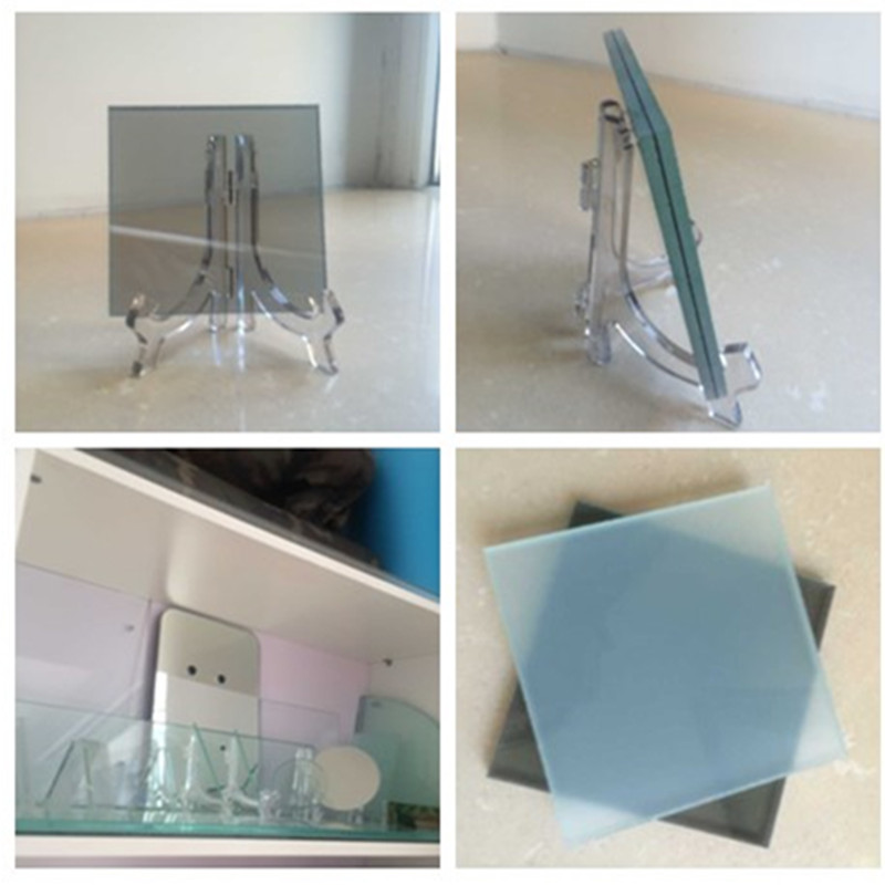 Decorative Clear and Tinted Toughened Laminated Glass for Household