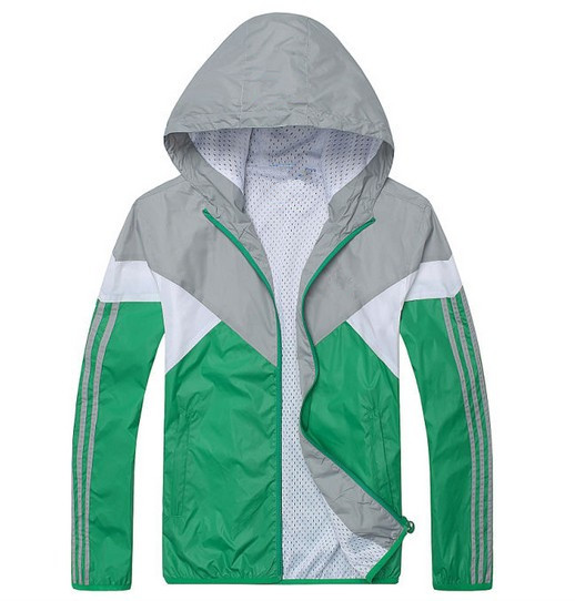 Mens Polyester Windproof Sport Jacket