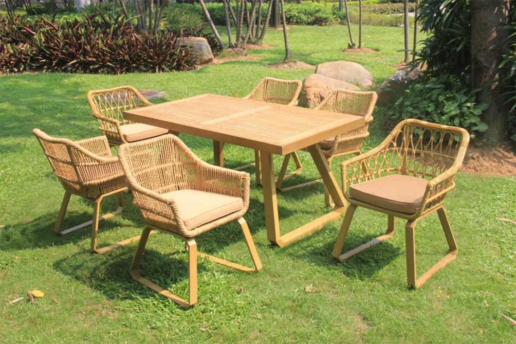 European Style Rattan or Wicker Sofa Set Garden Chair