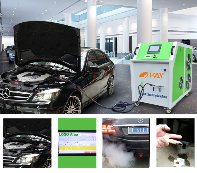 Fuel Injector Hydrogen Carbon Cleaner Carbon Engine Cleaning Machine
