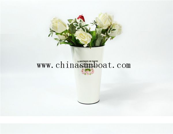 Enamel Decoration Simple Flower Vase