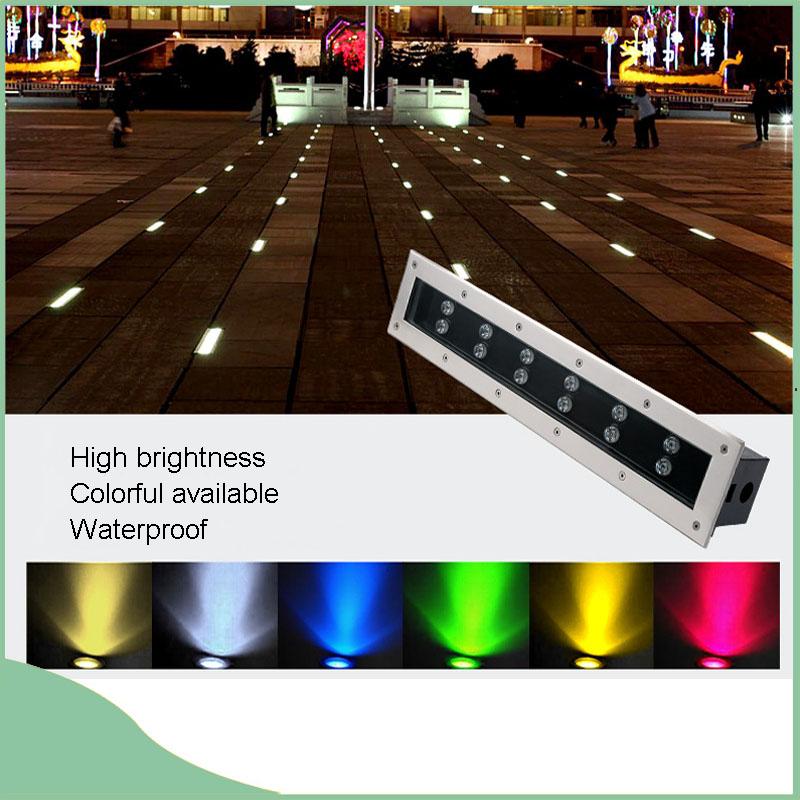 DC24V Aluminum Underground LED Wall Washer Light for Decoration