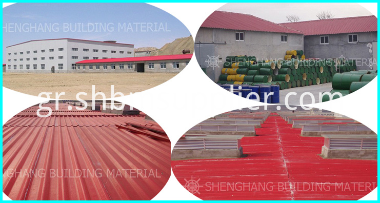 High strength proof polymer roof tile