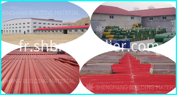 Fireproof carbon fiber upvc roof sheet