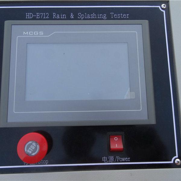 Programmable Digital Rain Spray Test Equipment