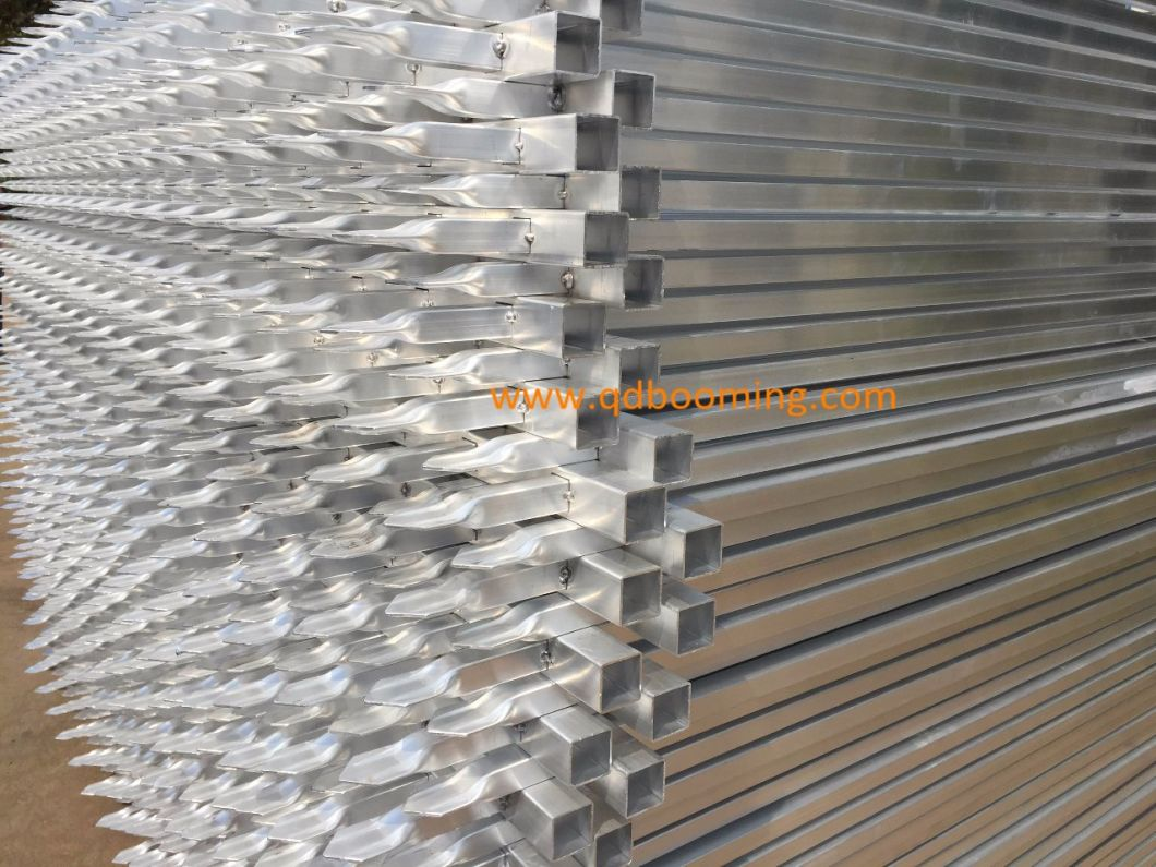 Aluminum Residential Picket Spear Top Tubular Fence