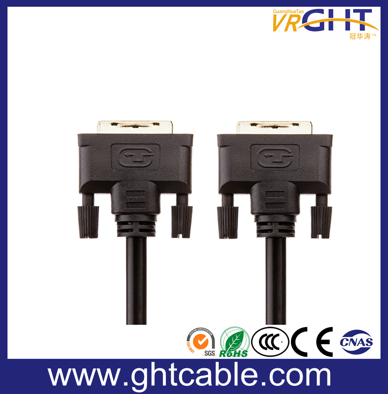 High Speed Support 1080P/2160p PVC Jacket DVI to DVI Cable