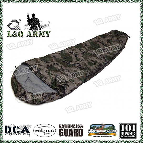Sleeping Bag - 8' Foot Camouflage Army Carry Bag