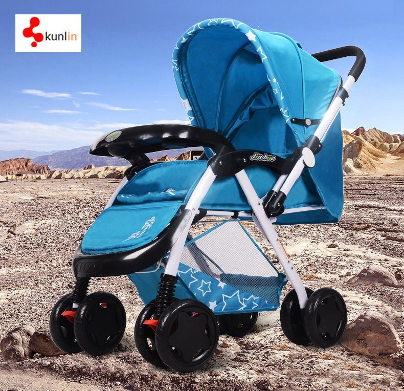 Cheap Baby Pram Stroller Buggy 2017 New Style Foldable Safe and Comfortable Baby Buggy