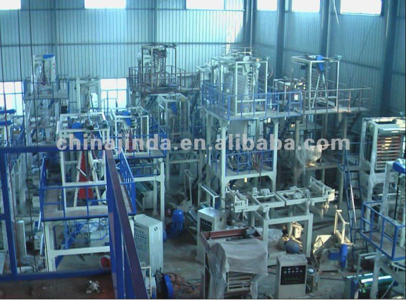PE High -Speed Rotary Die Head Blowing Film Machine