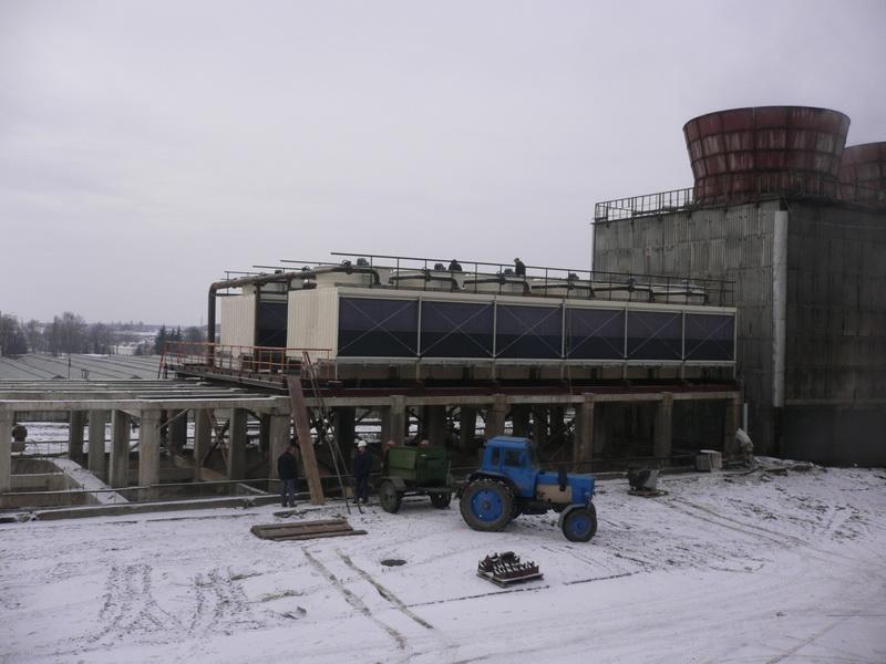 Squar Type Water Cooling Tower Jn-900L/M