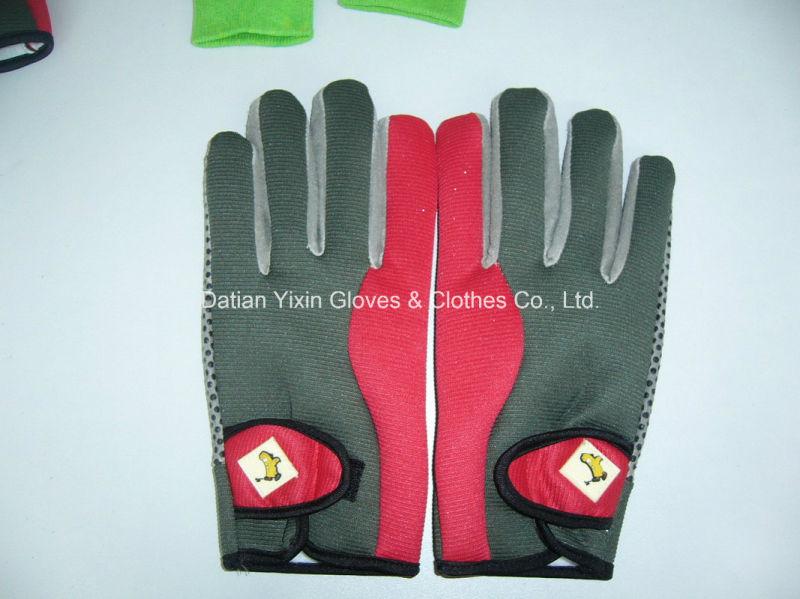 Safety Glove-Work Glove-PVC Dotted Glove-Labor Glove-Industrial Glove-Weight Lifting Glove