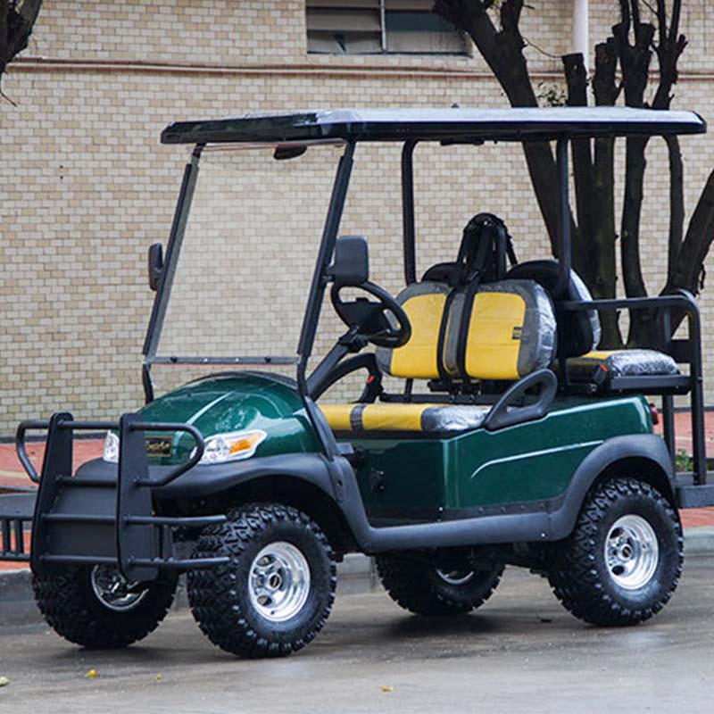 48V Battery Operated 4 Seater Hunting Golf Cart for Sale