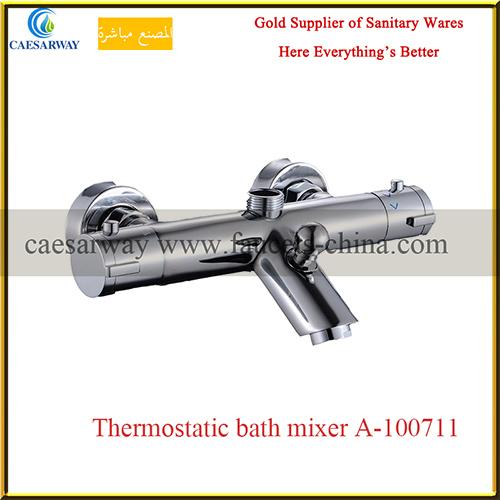 Brass Thermostatic Bathtub Bathroom Water Faucet Mixer