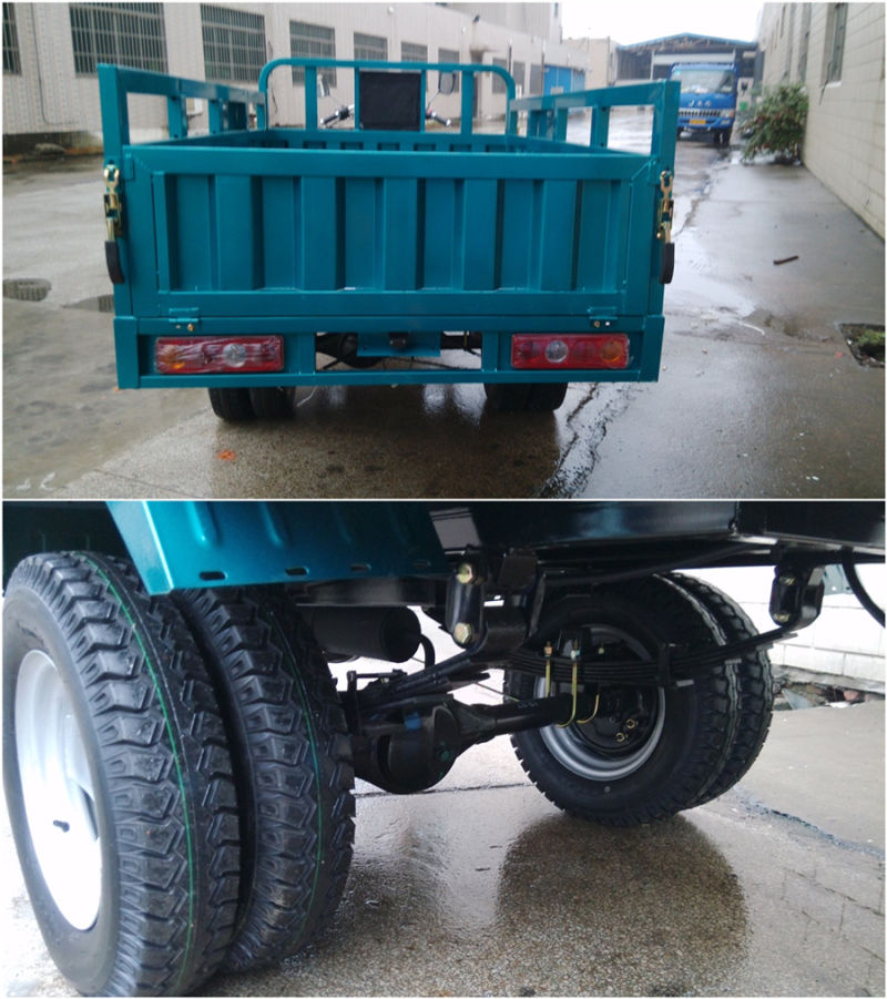 200cc Max Loading 1500kg New Water Cooling Truck Cargo Tricycle